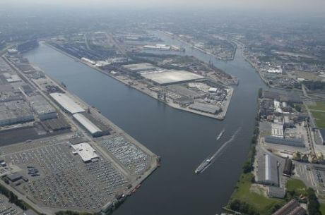 Port of Ghent aerial